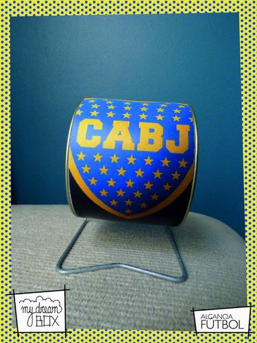 alcancía giratoria souvenir personalizada futbol boca junior