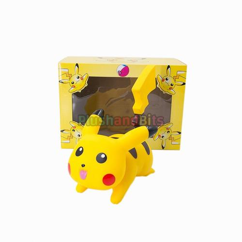 alcancia pikachu corriendo pokémon