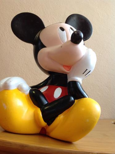 alcancía vintage de mickey  mouse