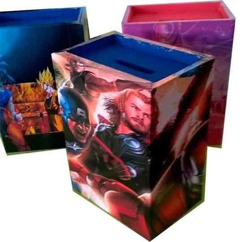 alcancias personalizadas souvenirs (por 25 unidades)
