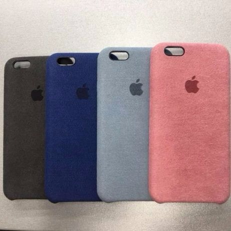 new style 92a6c 034b0 Alcantara Cover iPhone 6s Case Protector Oem A1