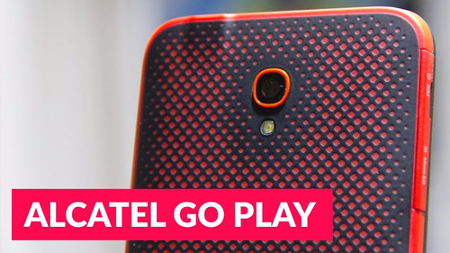 alcatel goplay, sumergible, pantalla 5 , 4g, cam 13 y 8 mp