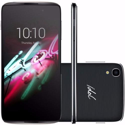 alcatel idol 3 6039 4.7 cámara 13m selfie libres cbtelefonia