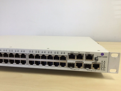 alcatel-lucent omnistack 24 port 10/100 poe switch ls-6224p