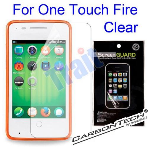 alcatel one touch fire forro y lamina combo firefox movistar