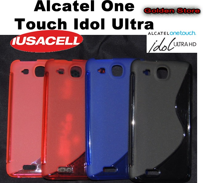 Alcatel one touch idol ultra 6033 funda silicon hibrido - Fundas alcatel one touch idol ...