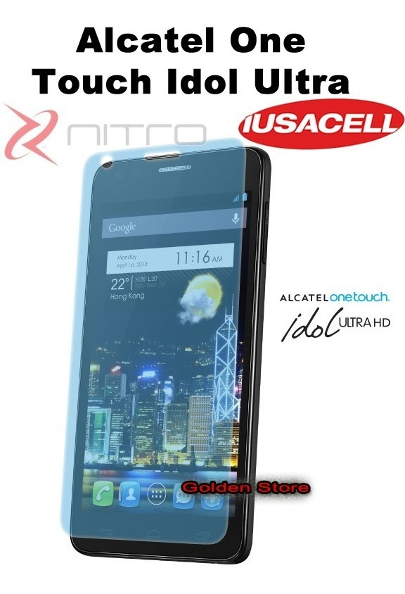 b040f5286bb Alcatel One Touch Idol Ultra 6033 Mica - $ 65.00 en Mercado Libre