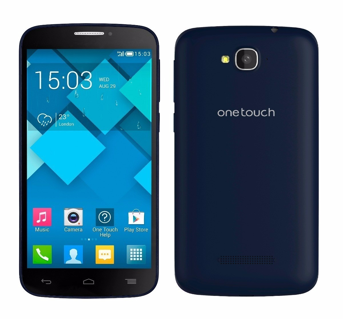 arrives detailed pictures exclusive range Alcatel One Touch Pop C7 7040a 5mp Quad Core 1.3ghz Android