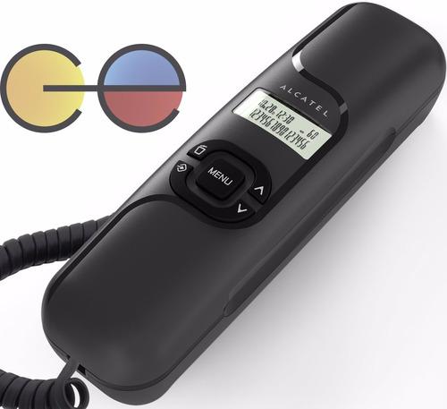 alcatel t16 teléfono alámbrico tipo sanduche memorias