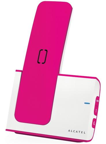 alcatel teléfono inalámbrico g280 rosa