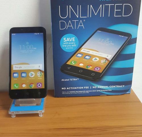alcatel tetra 4g android 8.0 quadcore 16gb+2gb 5mp+2mp flash