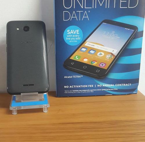 alcatel tetra 4g android 8.0 quadcore 16gb 2gb somos tienda