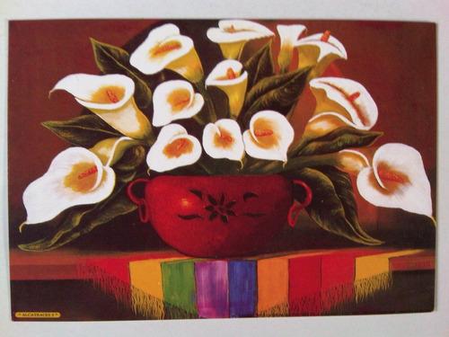 alcatraces tarjeta postal mexico, arte