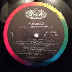 alcatrazz dirtubing the peace(ex/ex-)lp import steve vai***
