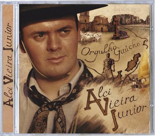 alci vieira junior - orgulho gaúcho - cd - frete grátis