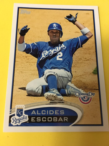 alcides escobar topps opening day 2012 59