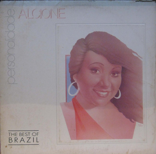 alcione - the best of brazil lp personalidade - philips 1988