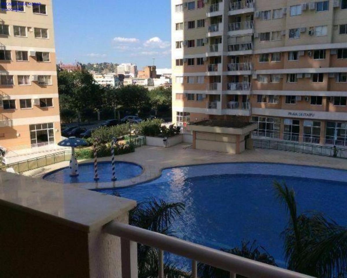 alcântara parque da águas apartamento mobiliado 3 quartos suite - ap00030 - 33117235