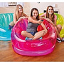 Sillon Inflable Translusido De Colores Intex