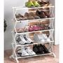 Zapatero- Organizador De Zapatos 10 Pares Desarmable 5 Pisos