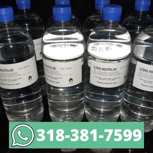 alcohol 96% 1 litro promoción
