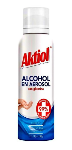 alcohol aktiol spray glicerina pack x12 barata lagolosineria