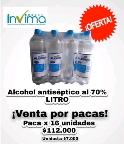 alcohol al 70% litro