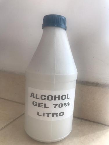alcohol antibacterial 1 litros 70%