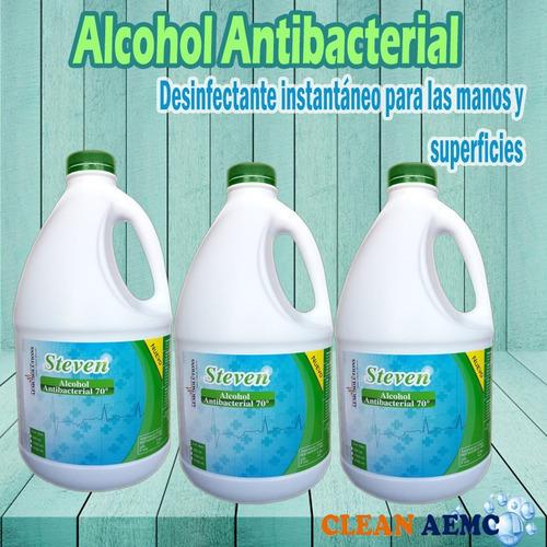alcohol antibacterial al 70% al por mayor y menor
