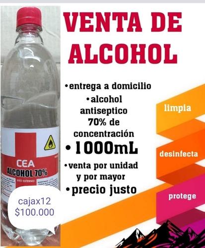 alcohol antiséptico 70% por mayor