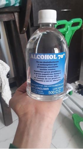 alcohol antiséptico
