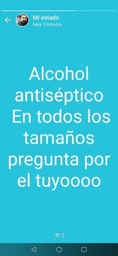 alcohol antiséptico al 70 %