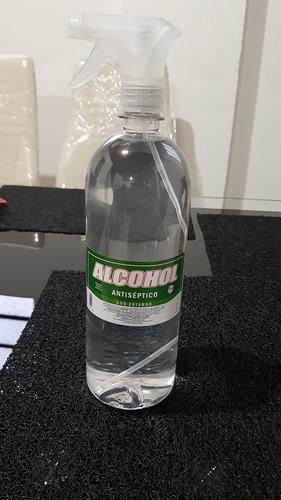 alcohol antiséptico al 70% litro con atomizador