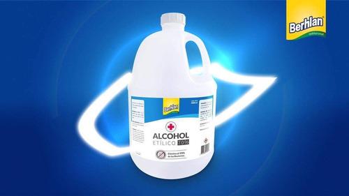 alcohol antiseptico jgb 3.800 ml y berhlan por 4000 lts