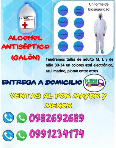 alcohol antiséptico por galón