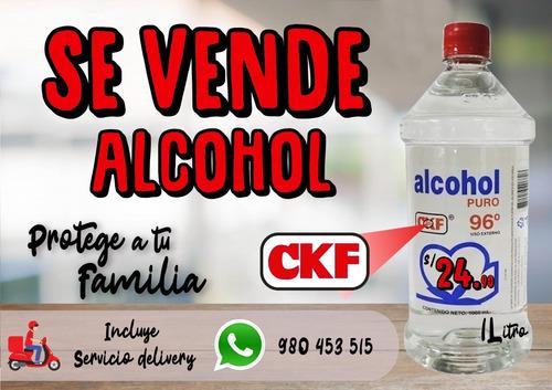 alcohol ckf 96° por 1 litro.