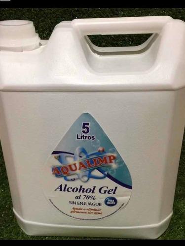 alcohol desinfectante 5lt y 2lt