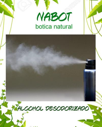 alcohol desodorizado 500 ml