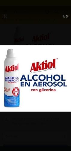 alcohol en aerosol aktiol