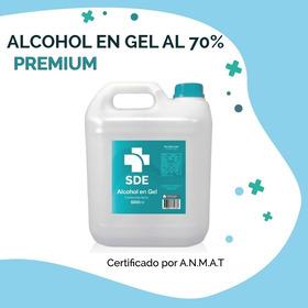 Alcohol En Gel 5 Lt Premium Anmat