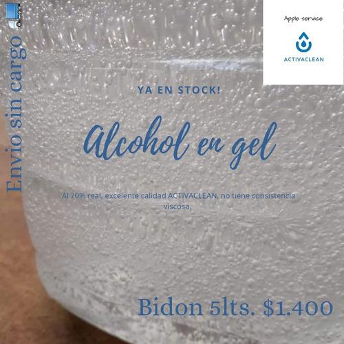 alcohol en gel 5lts. 70%