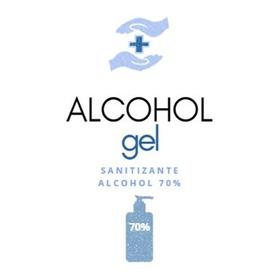 Alcohol En Gel 70% 500 Ml Envase Con Válvula Cremera