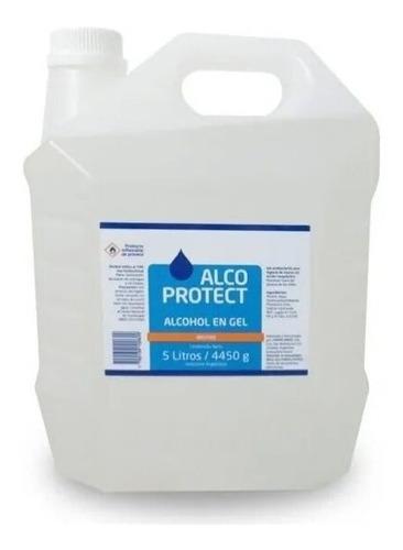 alcohol en gel alcoprotec porta bidon 5 litros