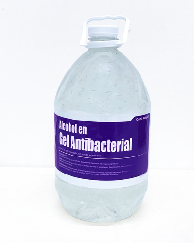 alcohol en gel antibacterial concentrado 5l pharnutricion