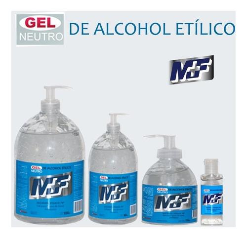 alcohol en gel mf x 250 cc x 12 unidades