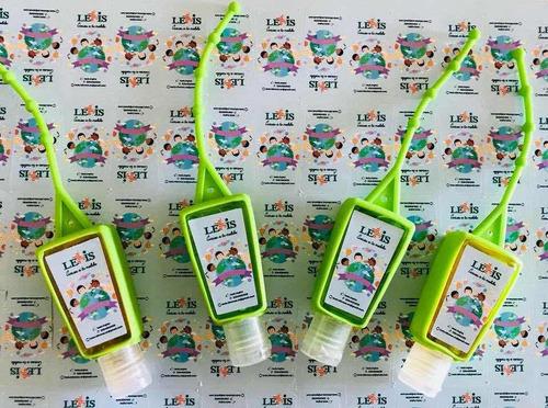 alcohol en gel personalizado colgante souvenir