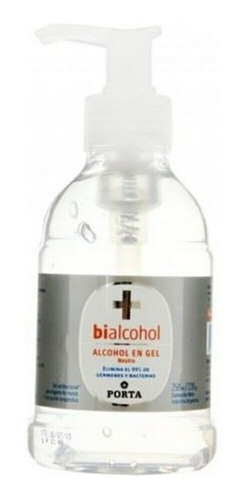 alcohol en gel porta 250 ml