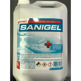 Alcohol En Gel Sanigel X 5 Lts