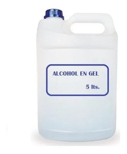alcohol en gel x 1 litro