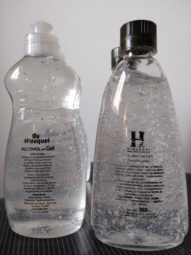 alcohol en gel y etílico